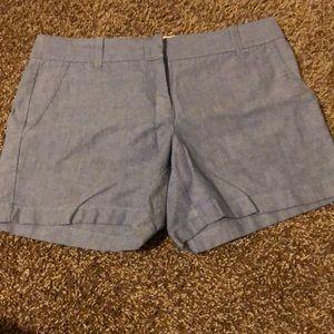 J Crew Skyblue Shorts 4